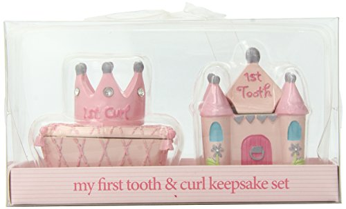 Baby Essentials Tooth and Curl Boxes, Princess -