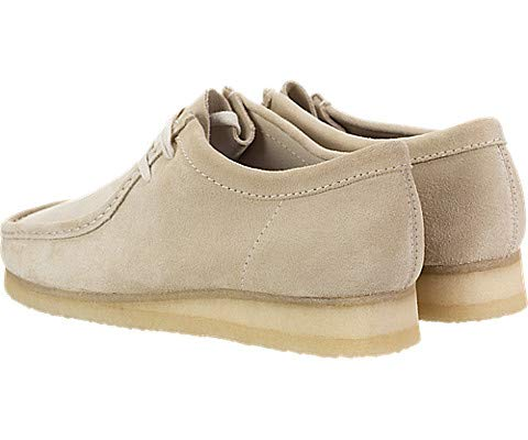SHOPUS | CLARKS Wallabee Mens Shoes Off White Suede 26139174