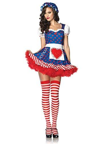 Darling Dollie Adult Womens Costumes (Darling Dollie Costume - Medium - Dress Size 8-10)