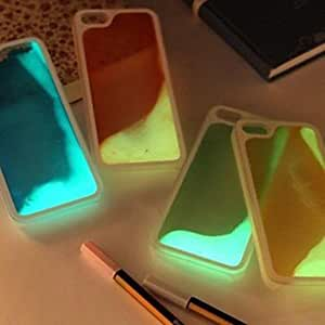 LCJ Luminous Slides Hard Back Case for iPhone 5/5S (Assorted Color) , Yellow