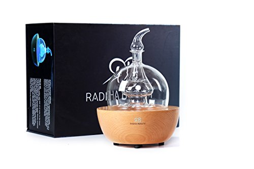 Radha Beauty Aromatherapy Wood And Glass Essential Oil