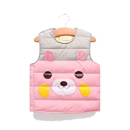 HEHGU Baby Infant Toddler Cute Bear Vest Winter