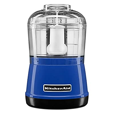 KitchenAid KFC3511TB 3.5 Cup Food Chopper, Twilight Blue
