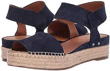 Franco Sarto Womens Oak Leather Peep Toe Casual Slingback Sandals