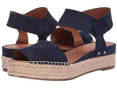 2702993992e5 Franco Sarto Women s Oak by Sarto Navy Suede 5.5 ...