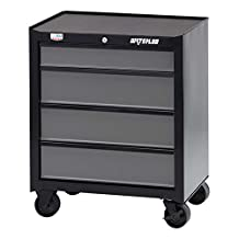 """Waterloo Industries W100 Series 4-Drawer Rolling Tool Cabinet, 26""""-Designed, Engineered and Assembled"""
