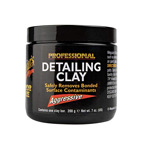 Meguiar's Mirror Glaze Detailing Clay, Aggressive - Remove Defects & Restore a Glassy Finish - C2100 (Best Auto Detailing Products Review)