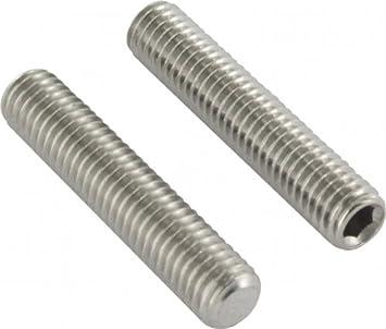 100 Stück Gewindestifte M8 x 40 mm// Stahl verzinkt