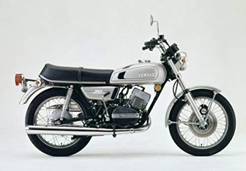 Yamaha RD350 Kupplungsscheiben-Set 7-teilig Yamaha RD 350 YPVS RD 250 RD 400 RZ//FZR RD 350 CAFE RACER BW350 RZ350 1973-75 US SPEC RD 350YPVS 5Y1-16331-01-00 360-16321-00-00