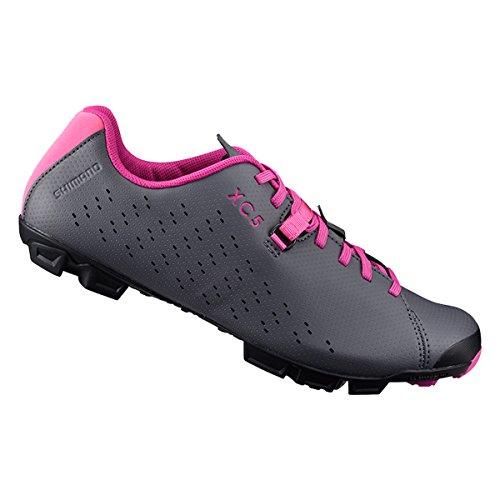 Shimano Chaussures De Cyclisme Xc500w Pour Femme (toutes Les Couleurs - Toutes Les Tailles) Gris / Magenta
