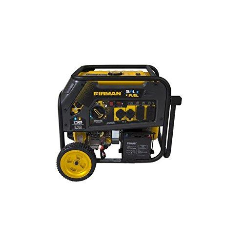 Firman Power Equipment Hybrid Series H05751 5700 / 7125 Watt Dual Fuel Generator w/ Electric Start