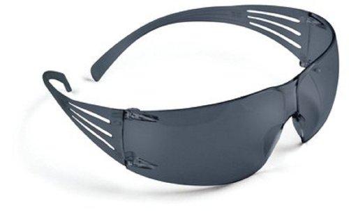 3M SecureFit Protective Eyewear SF202AS, Gray Lens, Anti Scratch Coating