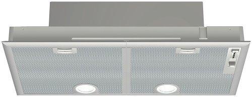 Bosch DHL755BUC Custom Hood Insert with 400 CFM Blower 4 Fan-Speed Slider Control and 2 Halogen Surface