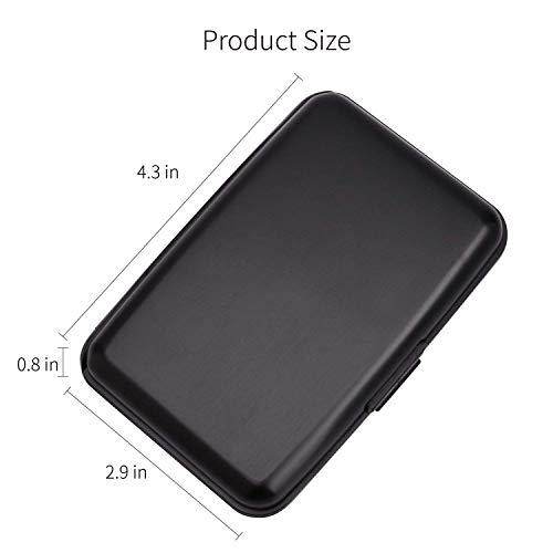 Light Protector Holder Case Red Credit Card Blocking RFID Aluminum Card Blue Card pFwStq0
