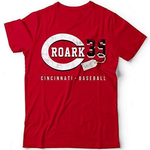 Roark No. 35 Reds Baseball Pitcher Players Field Home Run Champions Jersey Customized Handmade T-Shirt Hoodie/Long Sleeve/Tank Top/Sweatshirt