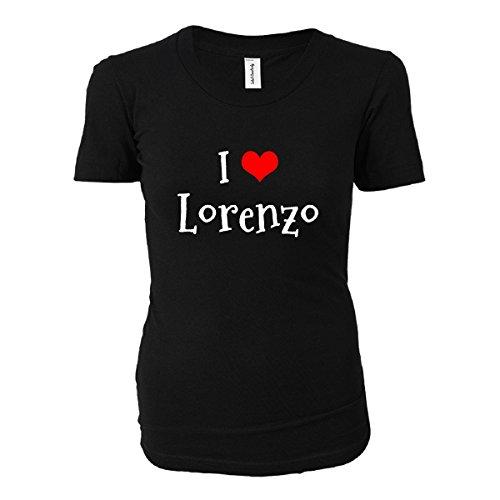 I Love Lorenzo. Funny Gift - Ladies T-shirt