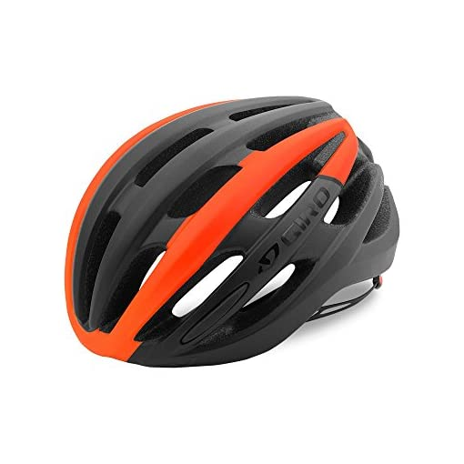 Giro-Foray-Road-Cycling-Helmet-Matte-BlackVermillion-Fade-Medium-55-59-cm