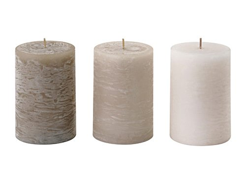 IKEA-LUGGA-Vanilla-Candle-Scented-Block-Candle-Soft-Vanilla-Beige-3-Pack