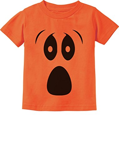 TeeStars - Halloween Ghost Costume Funny Ghoul Face Toddler/Infant Kids T-Shirt