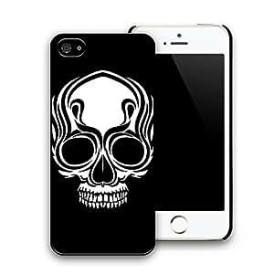 PEP Skull Design Cartoon Pattern Black Hard Plastic Defender Protector Case Cover Skin Shell for Apple iphone 5s iphone 5