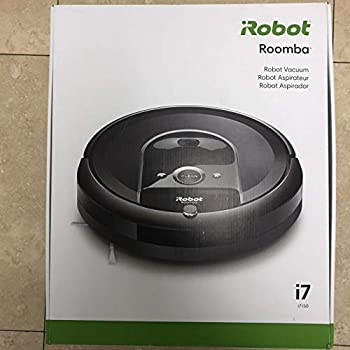 iRobot Roomba i7 Wi-Fi Connected Robot Vacuum (7150), Works with Alexa, Ideal for Pet Hair, Carpets, Hard Floors