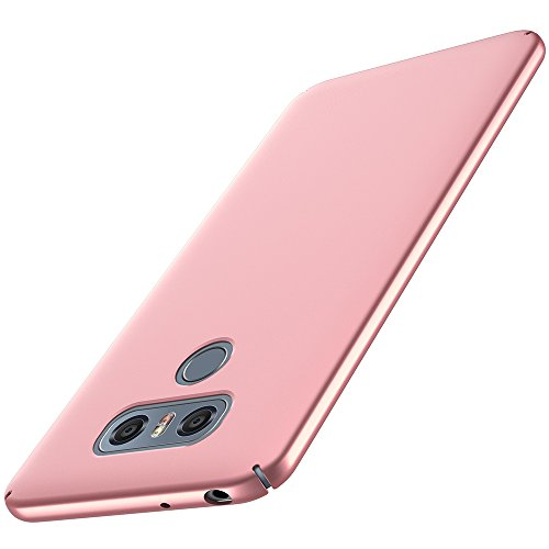 anccer LG G6 Case [Colorful Series] [Ultra-Thin] [Anti-Drop] Premium Material Slim Full Protection Cover for LG G6 (Pink)