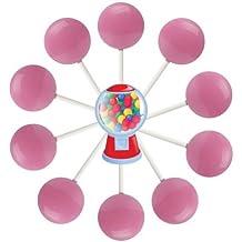 10ct. Bubble Gum Lollipop Bag (Bubble Gum)