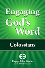 Engaging God's Word: Colossians Paperback
