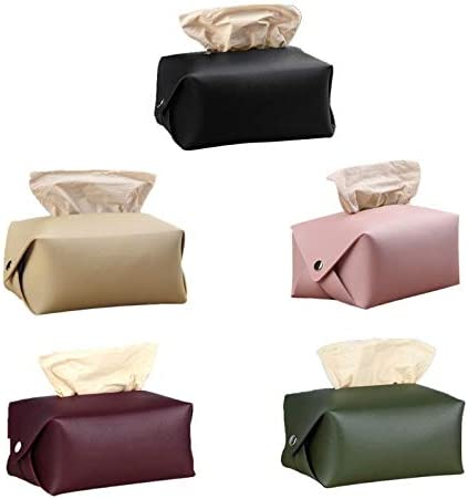 TapTheRug Scatola portaoggetti per tovaglioli da Cucina,Scatola del Tessuto Home Tissue Container Tovagliolo Custodia per fazzoletti Fogli di Carte per la casa amichevoli Portatovaglioli