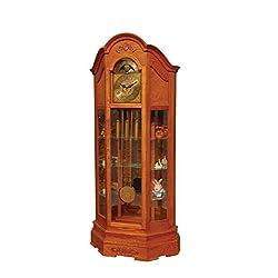 ACME Furniture 97083 Hedeon Grandfather Clock, Oak