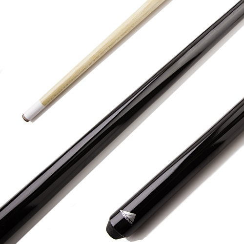 Mizerak 40-Inch Shorty Cue (1 Piece) Perfect for Jump Shots and Playing in Tight ()