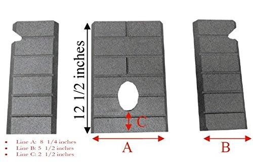 Firebrick Replacement (PelletStovePro - Whitfield Pellet Firebrick Cerra Advantage II 2 - 12146500)