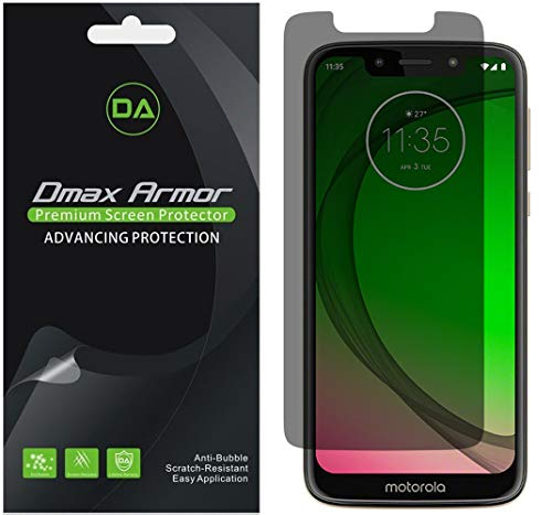 Armor Psp Screen - [2-Pack] Dmax Armor for Motorola Moto G7 Play Privacy Anti-Spy Screen Protector Shield - Lifetime Replacement