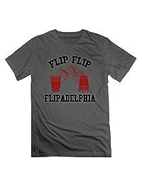 WBARD Men's It's Always Sunny In Philadelphia FLIP FLIP FLIPADELPHIA Tshirts