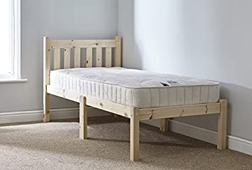Short Length Childs Bed   Small Single Bed Pine 85cm By 175cm Single Bed  Wooden Frame Part 85