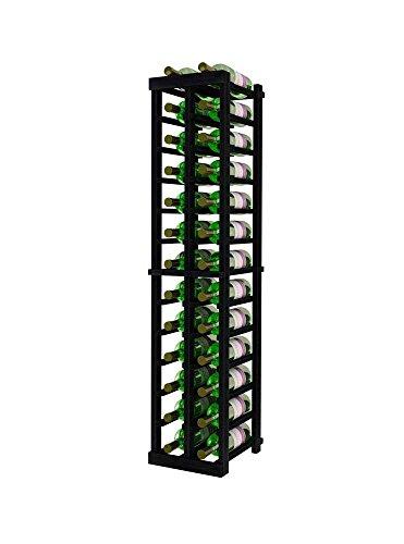 Vintner Series Wine Rack - 2 Column - 4 Ft - Premium Redwood Midnight Black - Column 4 Premium