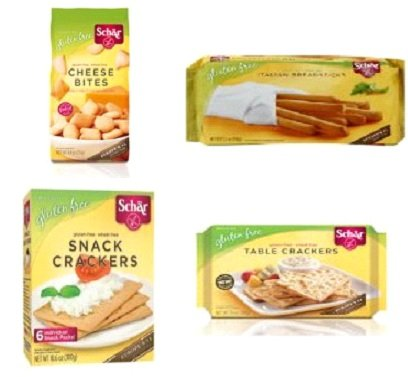 Price comparison product image Schar Gluten-Free Variety Pack - Crispbread, Breadcrumsb, Italian Breadsticks, Cheese Bites