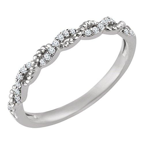 0.41 Ct Diamond Band - 4