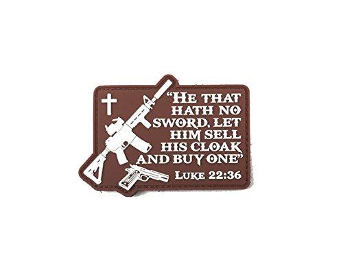 Patriot Patch Co - Luke 22:36 - Morale Patch
