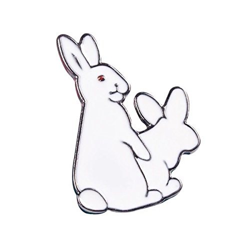 Bad taste rabbit lovemaking session sewage evil force value burst table brooch collar pin brooch personalized jewelry full 58