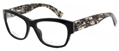 Christian Dior Cd Eyeglasses Frame (Christian Dior Eyeglasses 3252 2X5 Black/Grey 51)