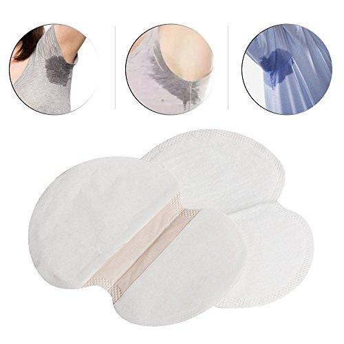 (Zorvo Armpit Sweat Pads, 100 Counts, Organic Pads Sweat Shield, Armpits Antiperspirant for Men Women, No Perfume Spirits)