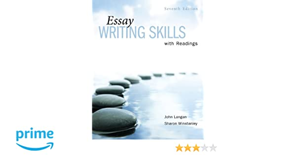 essay writing skills readings john langan sharon winstanley essay writing skills readings john langan sharon winstanley 9780070877306 books ca