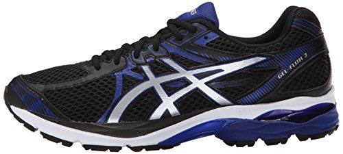 ASICS-Mens-GEL-Flux-3-Running-Shoe-BlackSilverAsics-Blue-95-M-US