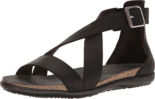 Naot Footwear Women's Rianna Oily Coal Nubuck Sandal by Naot Footwear (Image #3)