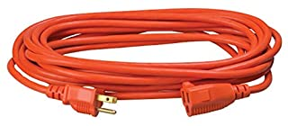 Coleman Cable 02307 16/3 25-Feet Vinyl Outdoor Extension Cord (Orange) (B002CGRLFW) | Amazon price tracker / tracking, Amazon price history charts, Amazon price watches, Amazon price drop alerts