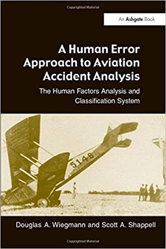 A Human Error Approach To Aviation Accident Analysis The Human Factors Analysis And Classification System Wiegmann Douglas A Shappell Scott A 9780754618737 Amazon Com Books