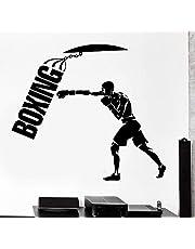 الملاكمة جدار الشارات ل غرفة المعيشة، ديكور المنزل، ماء ملصقات الحائط