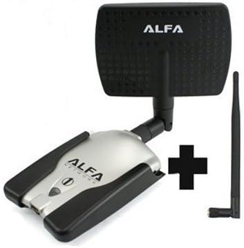 Adaptador WIFI ALFA 1000mW AWUS036h USB SMA 1W ...