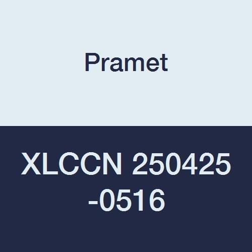 Neutral Hand Insert LCM Pramet XLCCN 250425-0516 Carbide Modular Blade for Parting and Grooving Insert Width 0.197 0516.